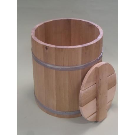 Sondek dębowy do kiszenia 50 litrowy