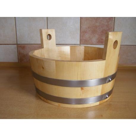 Ceber olchowy do sauny o pojemności 5 litrów